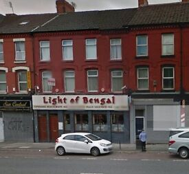 Aigburth Road Above Indian Restaurant - 3 Bed Apartment Fully Furnished Ready Now £650 PCM