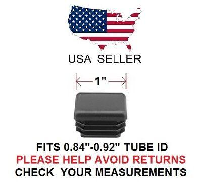 1 Inch Square Tubing Plugend Cap 1 Quantity 4