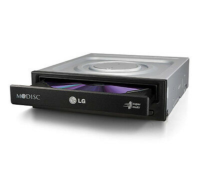 LG HGST DVD CD Brenner GH-24NS 24x SATA PC Computer Laufwerk intern schwarz NEU