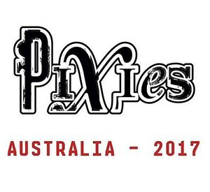The Pixies Live in Melbourne.. 1 x Ticket Creswick Hepburn Area Preview