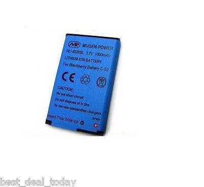 Mugen Power 1300mah Extended Battery Blackberry Curve 3G (Blackberry Curve Extended Battery)
