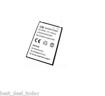 Mugen Power 1800MAH Slim Extended Battery For LG Connect MS840 MS-840 Optimus L3