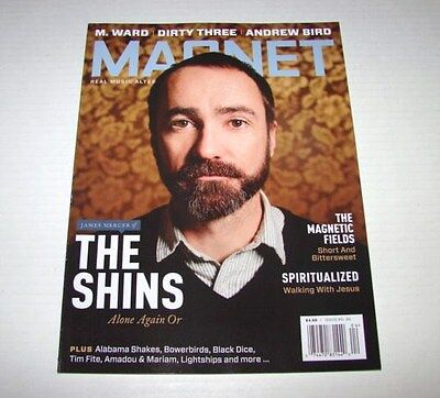 Magnet Magazine James Mercer of The Shins Issue # 86 NEW
