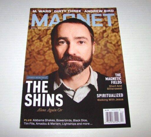 Magnet Magazine James Mercer of The Shins Issue # 86 NEW
