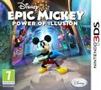 Epic Mickey The Power of Illusion (Nintendo 3DS)