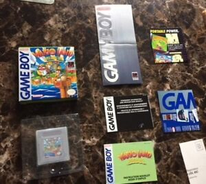 GAMEBOY GAMES & BOXES FOR SALE