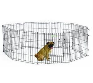 Enclos ou parc pour chiot ou chien