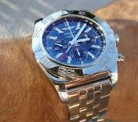 Breitling Chronomat Gmt 47mm blue face.