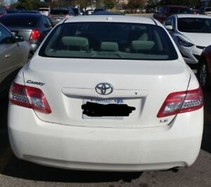2010 Toyota Camry Sedan White Color Well Maintained - for sale