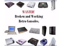 Video games / consoles Wanted! Sega- Nintendo- Atari- Sony etc.