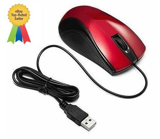 Mouse Jiggler - Full Featured Optical Mouse with BUILT-IN Mouse Mover