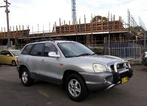 2001 Hyundai Santa Fe GLS (4x4) 4 Speed Automatic Wagon Belmore Canterbury Area Preview