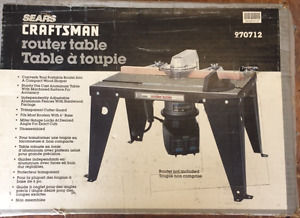 Router Table Sears Craftsman