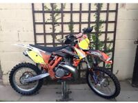 KTM SX 250 Motocross Bike EXC YZ CR RM KX