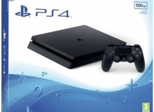 PlayStation 4 500 Black console, 7 Games