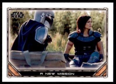 2020 Star Wars The Mandalorian Season 1 Base #42 A New Mission