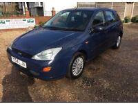 Ford Focus 2001 6 months mot 2001