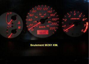 2002 Mazda Protégé ES 2.0 (96000 km SEULEMENT)