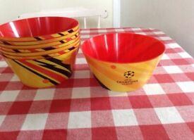 New UEFA champions League sharing bowls