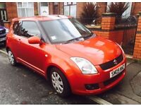 2009 SUZUKI SWIFT ATTITUDE ORANGE 1.3 3 DOOR ~ HPI CLEAR ~ MANUAL ~