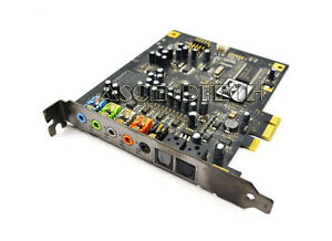 DELL X-FI XTREME FIDELITY 7.1 CHANNEL PCI-E SOUND BLASTER CARD GENUINE OEM F333J