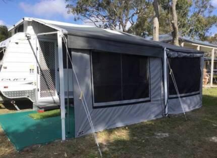 2011 Paramount Duet pop-top caravan Bensville Gosford Area Preview