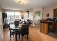 Spacious and Bright 2bed with garage, Jardin Windsor, Downtown
