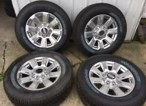 "TRAX 0000 ) 2017 F250 F350 New TAKE OFFS  20"" W/ LT 275/65R20  $2000"