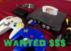 Buying Old Nintendo Consoles & Games - Any Kind, Any Games!