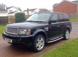 Range Rover Sport HSE 2.7 Black High Spec Private Plate