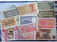 Foreign Notes (Mix lot)