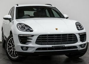 2014 Porsche Macan 95B MY15 S PDK AWD White 7 Speed Sports Automatic Dual Clutch Wagon Rozelle Leichhardt Area Preview