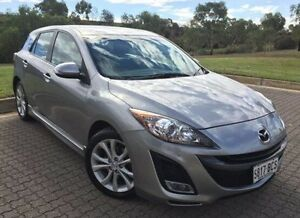 2010 Mazda 3 BL10L1 MY10 SP25 Activematic Silver 5 Speed Sports Automatic Hatchback Ingle Farm Salisbury Area Preview