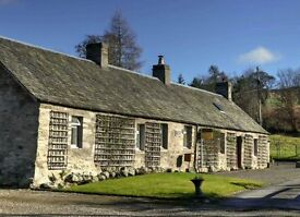3 bed , 2 public cottage , with a possible building plot , in a rural location