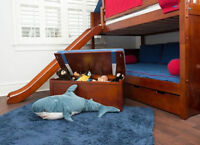 UP to40%SALE Kids_Childern Furniture_Loft_Bunk Beds_Quality Wood