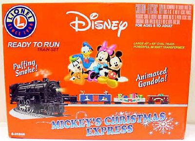 Lionel 6-31946 Disney Animated Christmas O Gauge Steam Train Set EX/Box