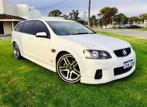 2012 Holden Commodore VE II MY12 SV6 Heron White 6 Speed Automatic Sportswagon Maddington Gosnells Area Preview