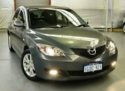 2007 Mazda 3 BK10F2 Maxx Sport Grey Metallic 5 Speed Manual Hatchback Myaree Melville Area Preview