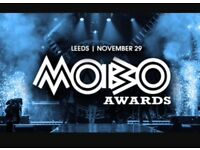 mobo awards tickets x3 leeds November block 105 best seats in arena tier 1 dead center