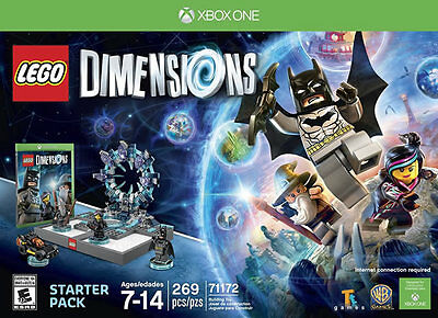 Lego Dimensions Starter Pack Xbox One New Xbox One  Xbox One