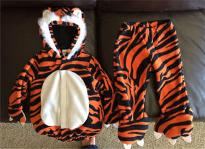 12 to 24 mos Old Navy Fleece Tiger Toddler Halloween Costume