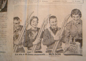 Vieux Journal La Maskoutaine Vintage Saint-Hyacinthe Québec image 5