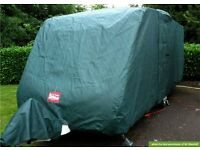 Protec Full Caravan Cover and towing cover