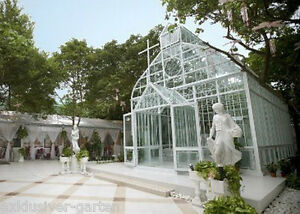 pavillon aus massivem stahl gartenhaus kirche orangerie. Black Bedroom Furniture Sets. Home Design Ideas