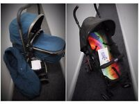 Mothercare Pram and Pushchair & Pebble car seat & Chicco summer pushchair