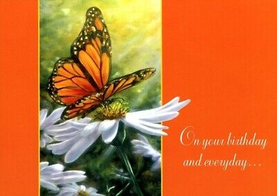 Natures Best - Butterfly - Tree Free Greeting Card -