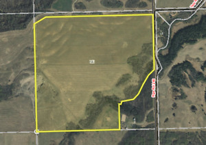 Farmland for sale in Red Deer County