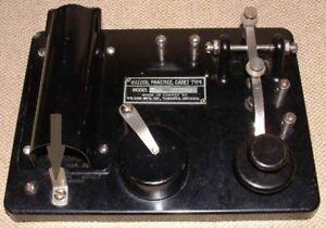 Han Radio VINTAGE RCAF MORSE CODE TRAINER
