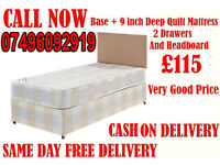 ****FREE DELIVERY**** Brand New Single Double /Small Double/ Kingsize Bed...CALL NOW
