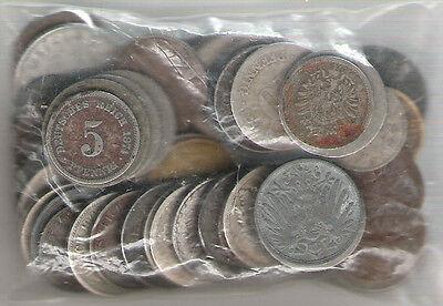 150 g Deutsches Reich 1874 bis 1942 Kursmünzen German Empire